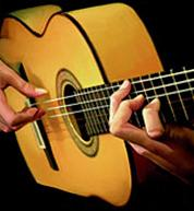 Guitare acoustique, Piano